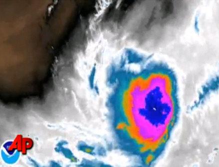tropical storm danielle hurricane