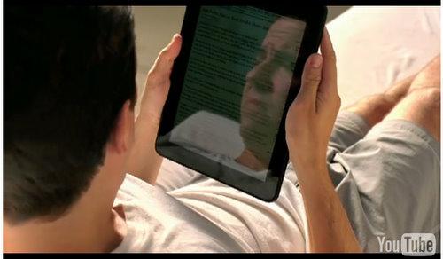 amazon kindle ipad video commercial