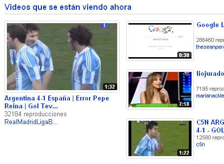 youtube argentina