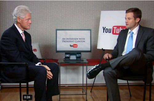 youtube citizentube bill clinton interview