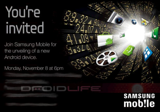 samsung mobile android device media event