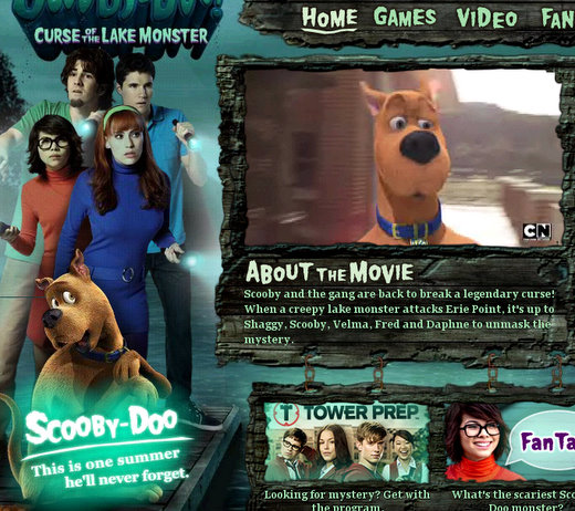 Scooby Doo Curse of the Lake Monster - 106.1KB