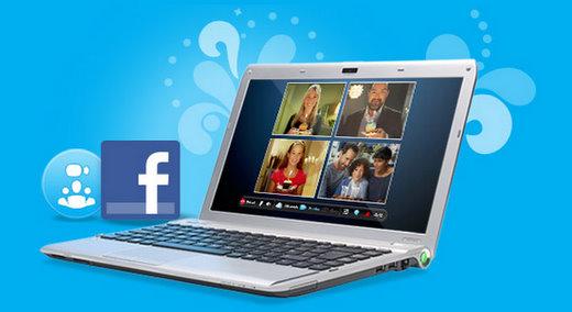 skype facebook friends