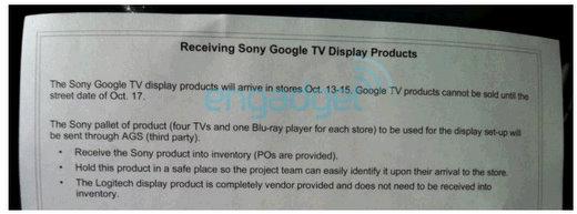 sony google tv best buy october 17