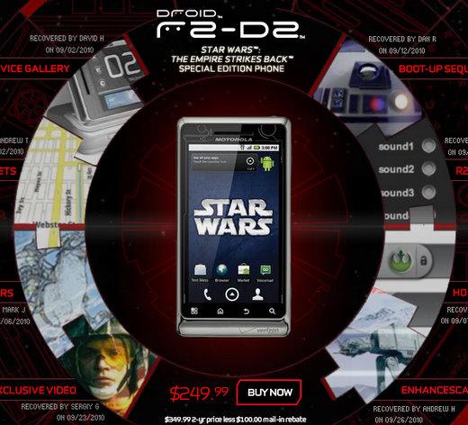 verizon droid r2 d2