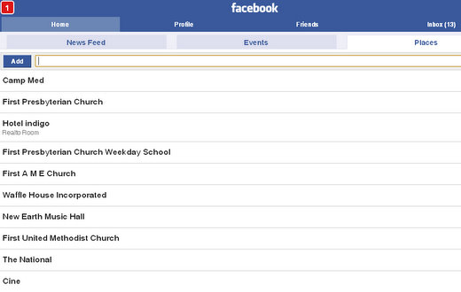 add places to facebook places 1