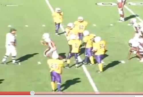 amazing football quarterback trick