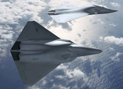 boeing unmanned fighter jets 2