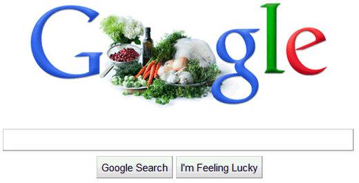 google thanksgiving day logo day 1