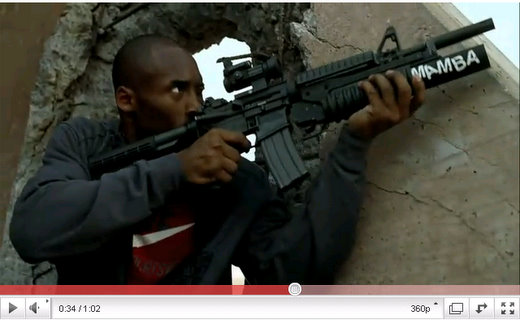 kobe bryant call of duty black ops commercial video