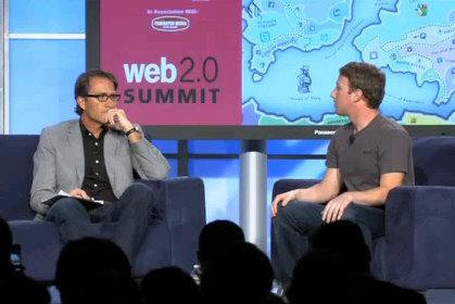 mark zuckerberg web 2 0 summit
