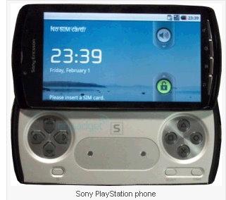 sony playstation phone 1