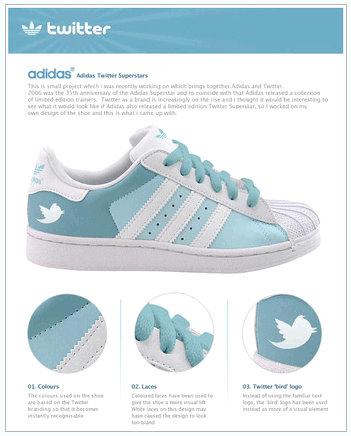 twitter adidas sneakers