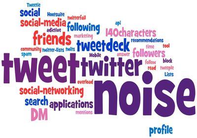 twitter like button twitter noise