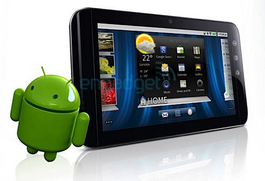 dell streak android 7 tablet