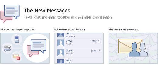facebook messaging service