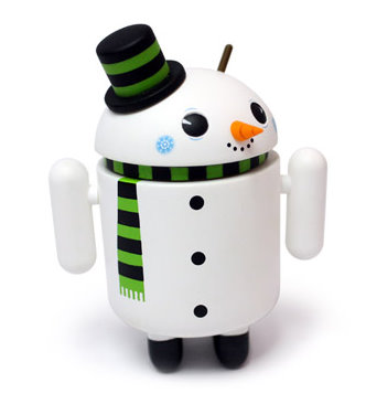 google android snowman 1