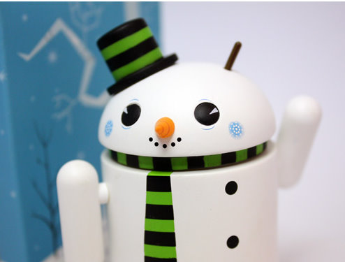 google android snowman 2