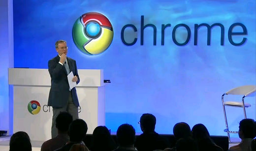 google chrome eric schmidt eric ceo