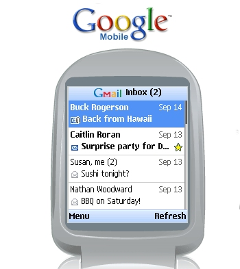 google mobile phone service provider