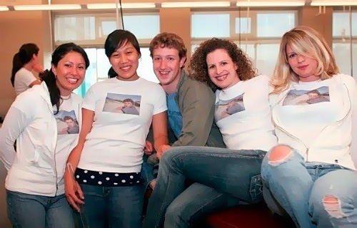 mark zuckerberg get girls