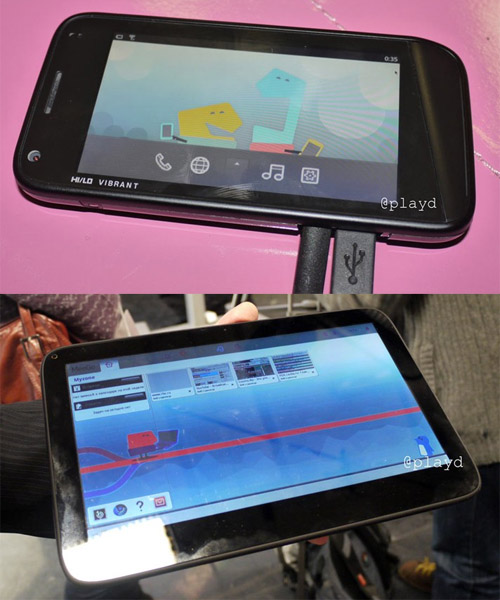 meego os smartphone tablet device