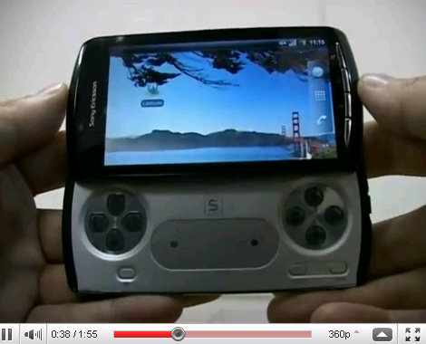 sony android playstation phone videos leaked