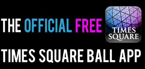 times square iphone app new years eve app