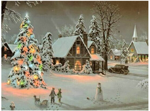 twas the night before christmas poem full