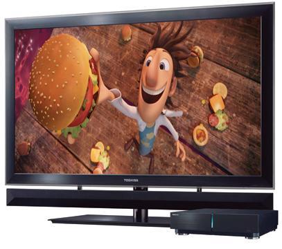 toshiba glassed free 3d tv