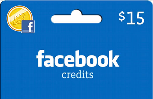 facebook credits currency