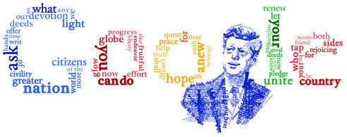 google doodle logo president john f kennedy inaugural address