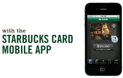 starbucks card mobile iphone app