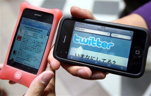twitter smartphone use 20101