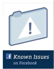 facebook fan page admin issues