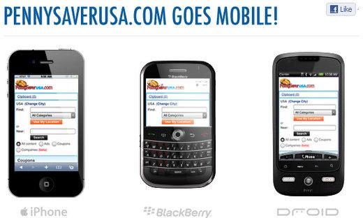 pennysaverusa mobile website version