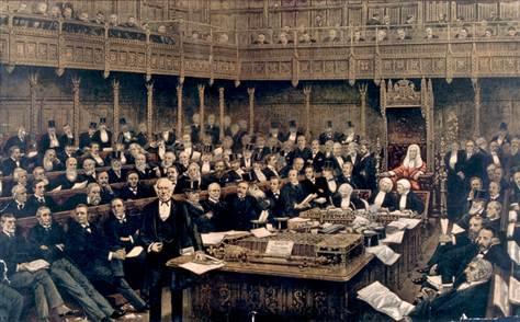 british parliament twitter use