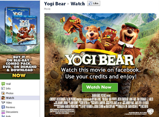 how to rent watch movies on facebook 1