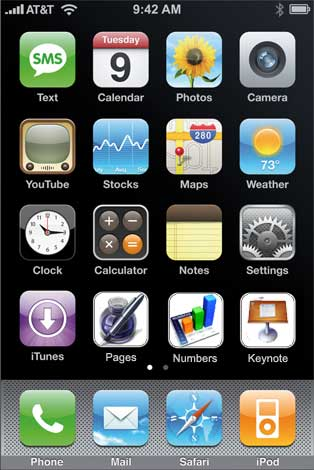 iphone homepages 11 pages of apps