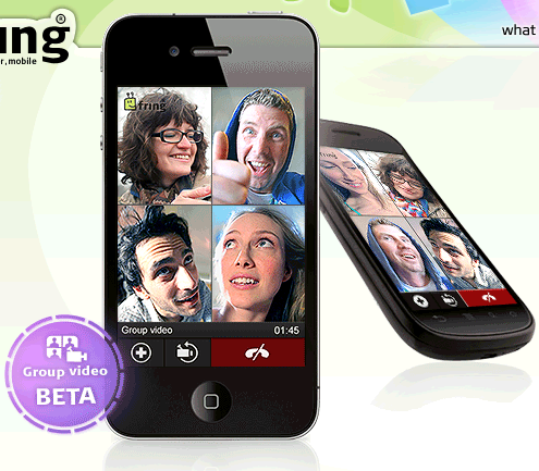 fring group video calling