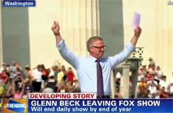 glenn beck leaving fox news