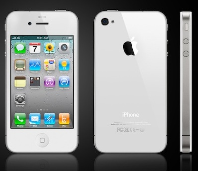white iphone 4 tomorrow