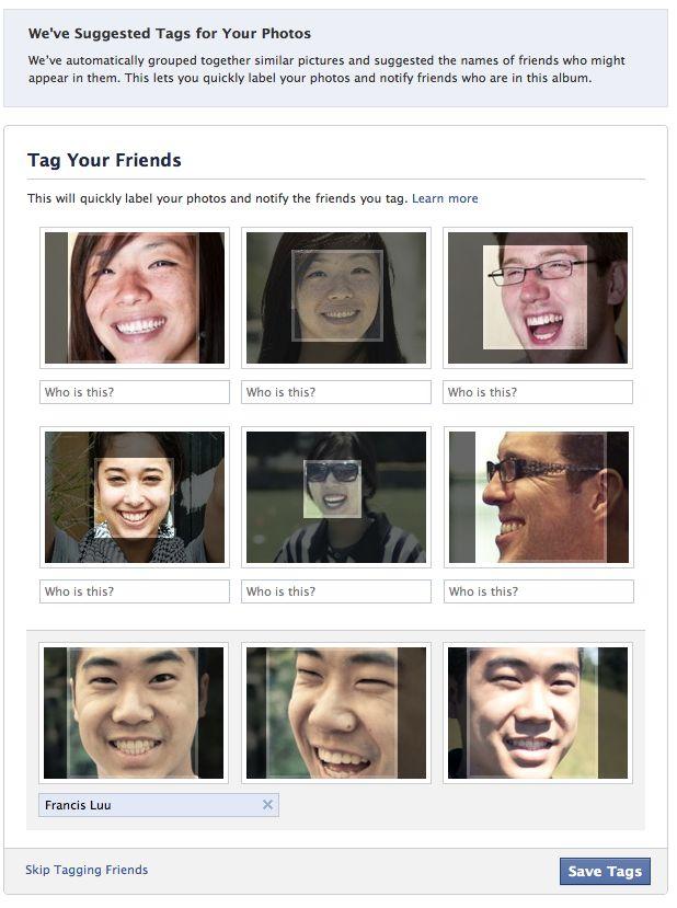 facebook facial recognition technology1