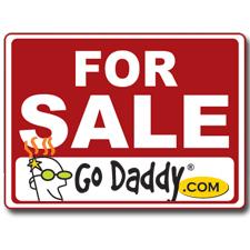 godaddy for sale