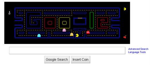 google pacman play