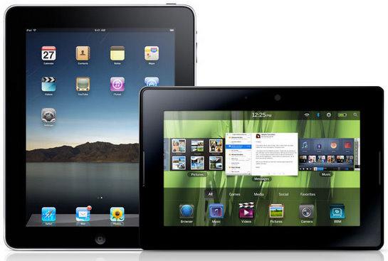 ipad vs blackberry playbook