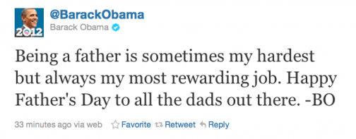 obama twitter tweets