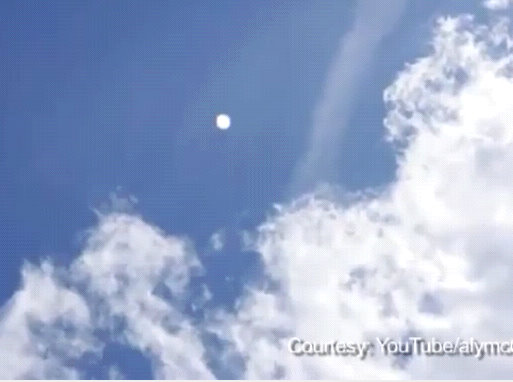 london UFO picture from video
