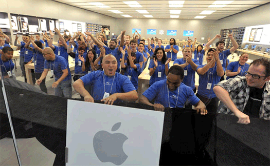 apple hiring for iphone 5