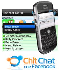 chit chat facebook blackber